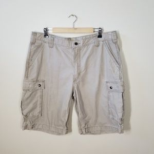 Carhartt | khaki relaxed fit cargo shorts
